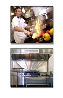 Restaurant exhaust equipment